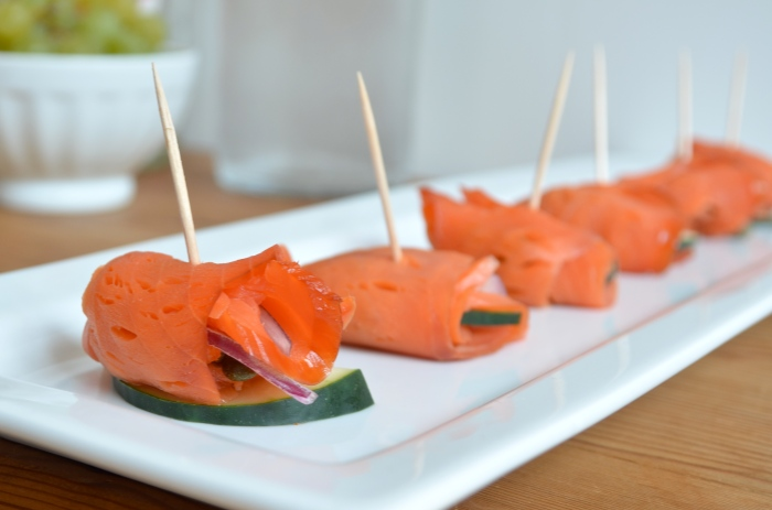 paleo salmon appetizer
