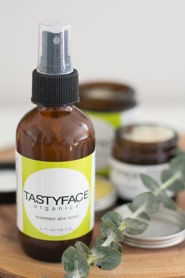 tastyface organics skincare; paleo-friendly and foodgrade