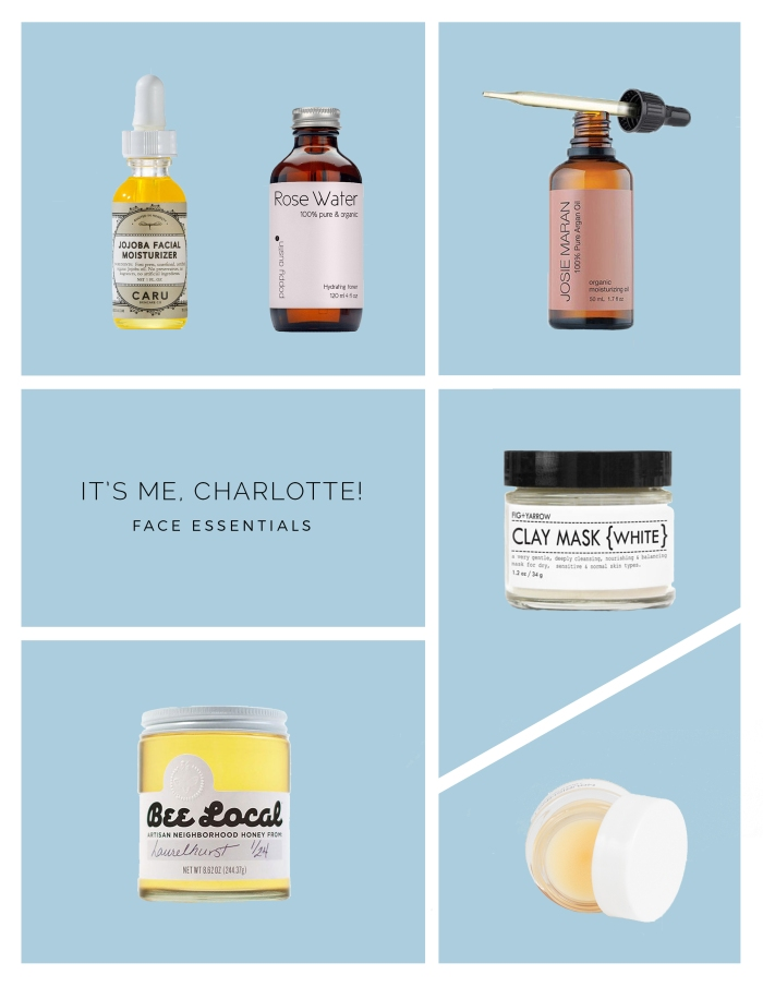 all natural skin-care essentials » itsmecharlotte.com